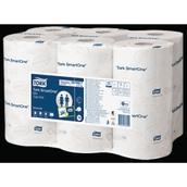 Tork SmartOne® Mini Toilet Roll - 2 Ply - pack of 12