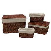 Wicker Hampers and Storage Baskets