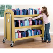 Tuf 2™ Lunch Box Trolley - Double-sided