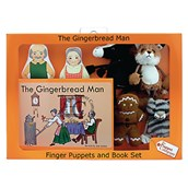 The Gingerbread Man Puppet and Book Set