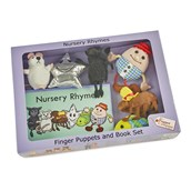 Nursery Rhymes Puppet and Book Set