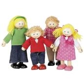 Tidlo White Doll Family