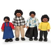 Tidlo Black Doll Family