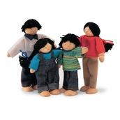 Tidlo Brown Doll Family