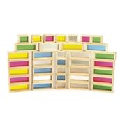 Rainbow Bricks - Pack of 36