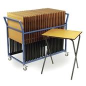 Classmates Exam Desk Trolley