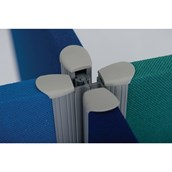 Space Dividers 30mm Partitions - Cross Link Strip