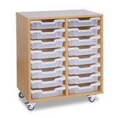 GALT Tall Double Bay Units - Clear Trays