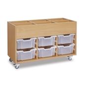 GALT - Mobile Deep Tray Kinderbox - Clear