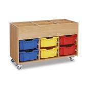 GALT - Mobile Deep Tray Kinderbox - Colour