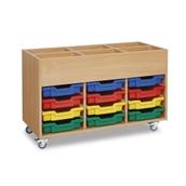 GALT - Mobile Shallow Tray Kinderbox - Colour