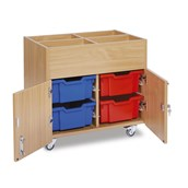 GALT - Mobile Kinderbox 4 Deep Trays - Colour Trays