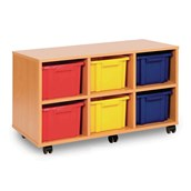 Triple Unit – 6 Trays Offer - Mobile - Colour Trays - pack of 3