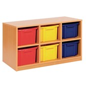 Triple Unit – 6 Trays Offer - Static - Colour Trays - pack of 3