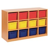 Quad Unit – 12 Trays Offer - Static - Colour Trays - pack of 12