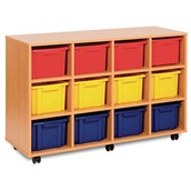 Quad Unit – 12 Trays Offer - Mobile - Colour Trays - pack of 12