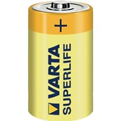 High Power Zinc Carbon Battery - C, R14 - pack of 2