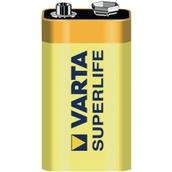 High Power Zinc Carbon Battery - 9V, PP3