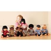 Multicultural Hard-bodied Dolls: Aida