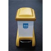 Capsule Sack Holders - 28 litre yellow lid