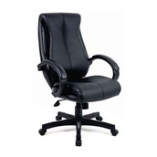 Leather Faced Managers Chair