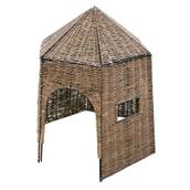 Willow Hut Large - 6 Panel
