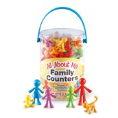 All About Me Family Counters - Pack of 72