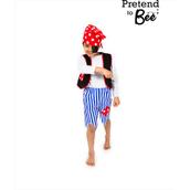 Pirate Costume  - 3-5 Years