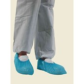 Disposable Blue Overshoes - pack of 50