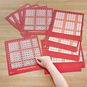 Multiplication Grids - Pack of 10