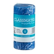 Classmates Colour Block Paints - Blue - Pack of 6