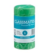 Classmates Colour Block Paints - Green - Pack of 6