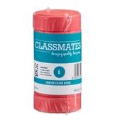 Classmates Colour Block Paints - Crimson - Pack of 6