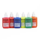 Classmates Marbling Ink - 25ml - Fluorescent Colours - Pack of 6