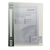 Snopake A4 Ring Binder Clear - Pack of 10
