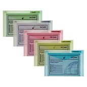 Snopake Classic Polyfile Popper Wallet Foolscap Blue - Pack of 5