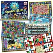 Spatial Skills Board Games
