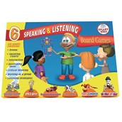 Speaking and Listening Games - Pack of 6