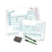 Show-me Periodic Table Dry-wipe Boards - A4 Pack of 10