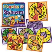 Phase 2 and 3 Phonics Spinners