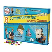 Reading Comprehension Board Games Level 2