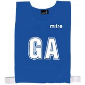 Mitre Netball Bib - Royal Blue - M - Pack of 7