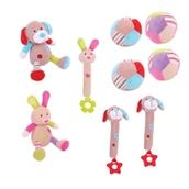 Bigjigs Toys  Nursery Fabric Toys - Pack of 9