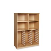 GALT 24 Tray Unit with Shelves - No Trays