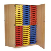 GALT - 60 Tray Unit With Doors - Colour