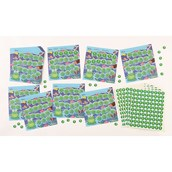 Frog Motivational Stickers and Charts