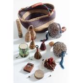 Large Multicultural Instrument Basket