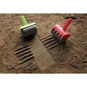 Textured Sand Rollers - Pack of 5