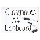 Classmates Rigid Whiteboards - Non-Magnetic - A4 Plain - pack of 35