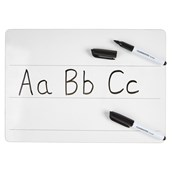 Classmates Rigid Whiteboards - Non-Magnetic - A4 Lined - pack of 35